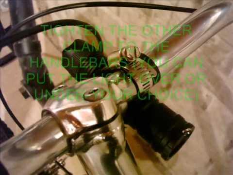 Diy Homemade Bike Light Youtube