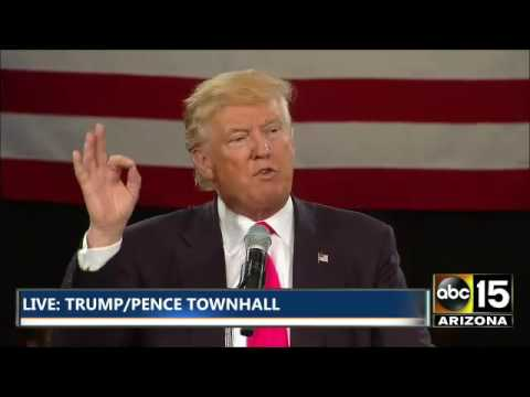 NOW: Donald Trump SLAMS Hillary Clinton / Schultz over DNC e-mail leak - Debbie, YOU