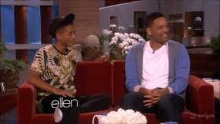 BEST OF WILL SMITH AND JADEN 2013 INTERVIEW AT ELLEN'S SHOW HD