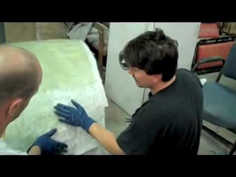 IMW Peel Ply Fiberglassing