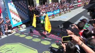Xavier Thevenard, 2015 Ultra-Trail du Mont-Blanc Champion, Finish