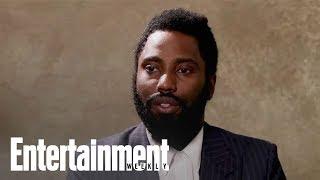 John David Washington On When He First Saw The 'BlacKkKlansman' Ending | Entertainment Weekly