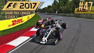 GROSJEAN STUURT OP MIJ IN! - F1 2017 #47 (Seizoen 3: Canada)