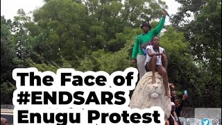 Phyno, Flavour, Zoro Joined EndSars 042 Enugu Protest
