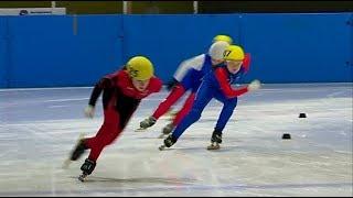 Второй этап зонального отбора по шорт-треку прошел в Уссурийске