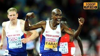 Mo Farah wins 10000m European Champ Zurich 2014 [FULL HD, RU]