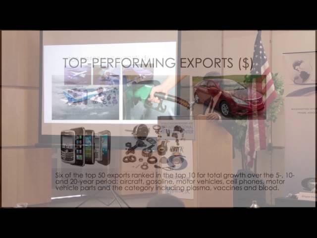 WITA Top 20 US Trade Partners - Ken Roberts WorldCity 06/10/2016 Pt.1