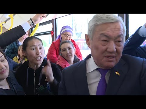 Kazakh Mothers Protest At Forum, Bused Out To Meet Mayor
