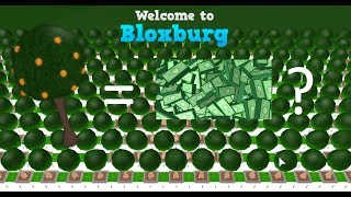 Roblox Bloxburg ? ¡Naranjos OP!