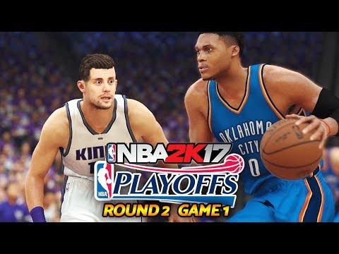 DENK vs WESTBROOK!! PLAYOFFS ROUND 2!! | NBA 2K17 My Career