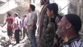 حلب تحت أعنف قصف للنظام وحليفه