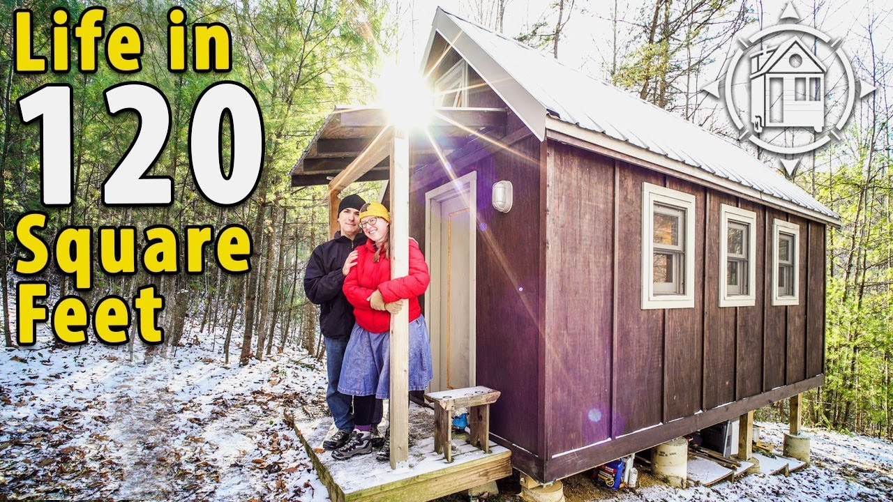 Off Grid Tiny House In The North Carolina Mountains Youtube