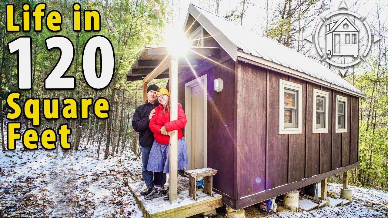 Off grid tiny house in the north carolina mountains youtube - House in the mountains ...