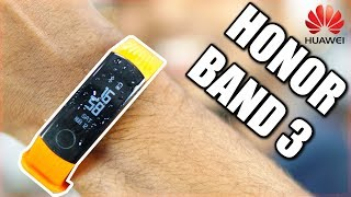 Honor Band 3 Budget Activity Tracker (Water Resistant | Heart Rate) - Unboxing, Setup & Hands On!