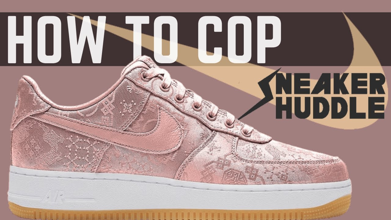 "CLOT Nike Air Force 1 'Rose Gold' | HOW TO COP + Release Info ""CHANGED"" Jan 21 ""WORLDWIDE SHIPPING"""