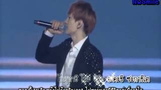 [Karaoke - Thai sub] Super Junior - Way (SS4 in Tokyo) from Sexy Free & Single Japanese ver. DVD