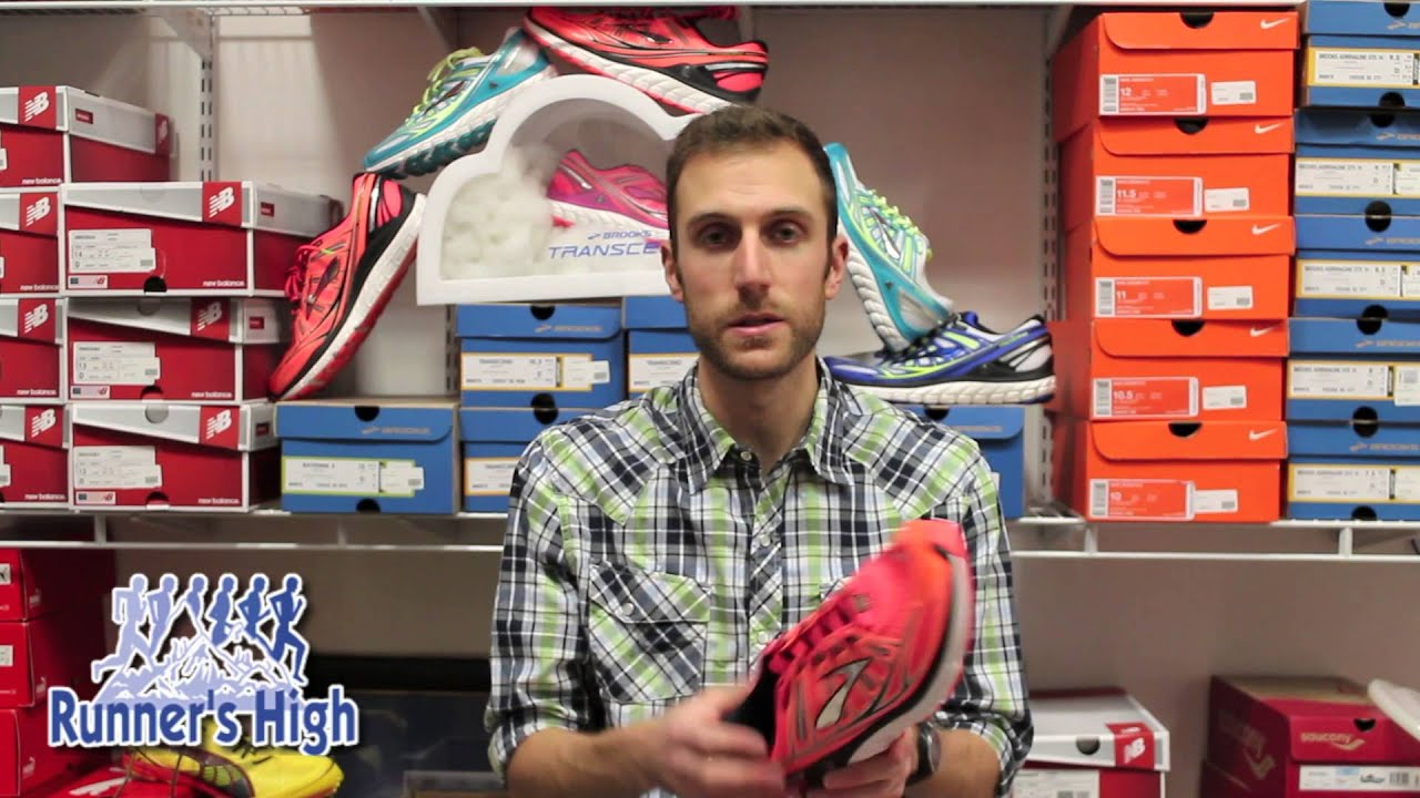 91411dd177b Product Review - Brooks Transcend - YouTube