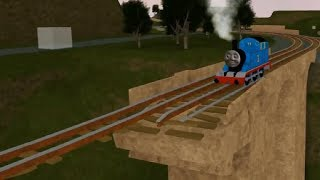 Thomas and Friends crashes 로블록스 Roblox toy Train games
