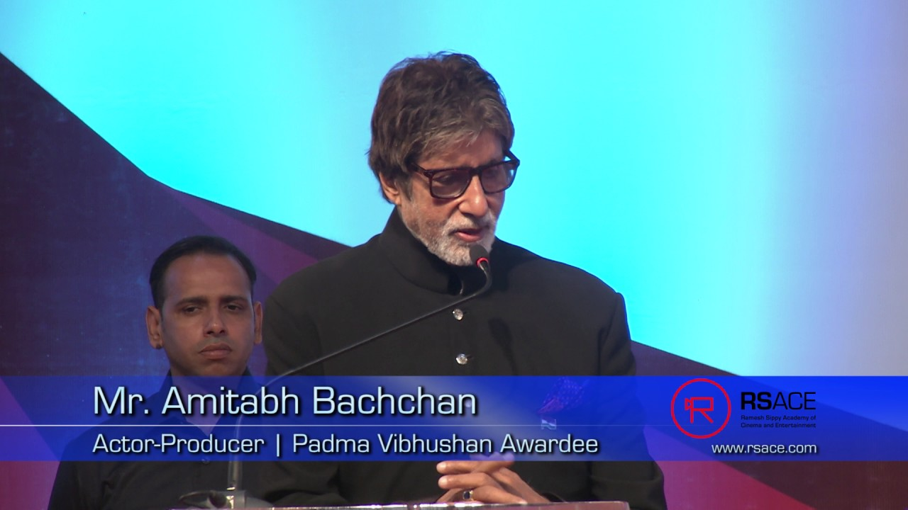 0ecc2f84cc1 Mr. Amitabh Bachchan inaugurates RSACE - YouTube