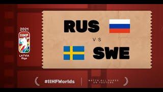 Highlights: RUSSIA vs SWEDEN | 2021 #IIHFWorlds