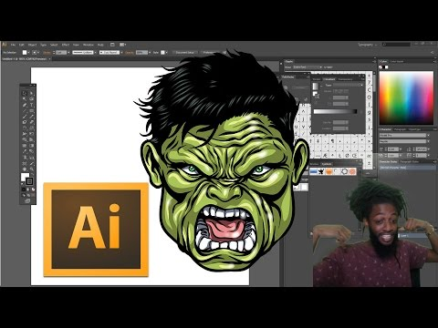 ULTIMATE COLORING TIPS AND TRICKS TUTORIAL !!!FOR ADOBE ILLUSTRATOR CS6 - ART VLOG