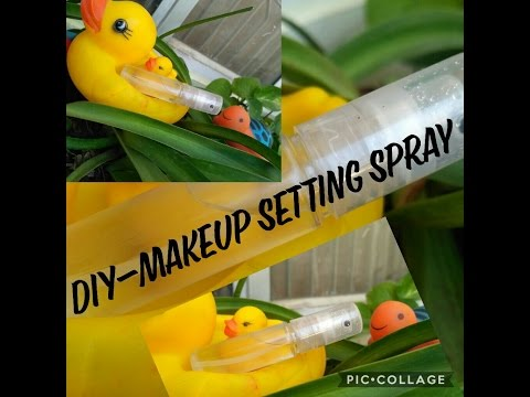 DIY 2 Ingredient Makeup Setting Spray!! Inexpensive & pocket friendly!! Sonali Nautiyal
