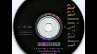 Aaliyah - The Thing I Like (PG TIPS SATELLITE MIX)