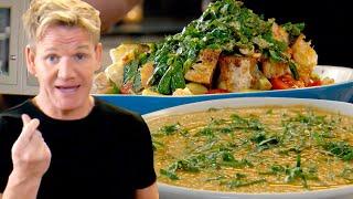 Gordon Ramsay Shows You How To Make A Healthy Gazpacho Soup