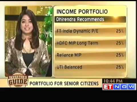 Investor's Guide: Conservative portfolio for senior citizens