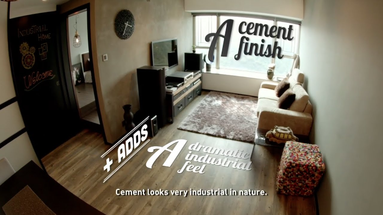 Industrial Home | Small Spaces | HGTV Asia - YouTube