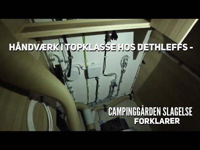 Dethleffs Camper 500 QSK fra Campinggården Slagelse