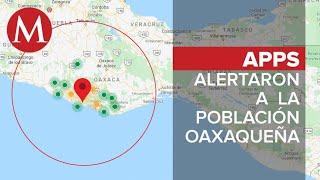 Tres sismos sacuden Oaxaca en la madrugada