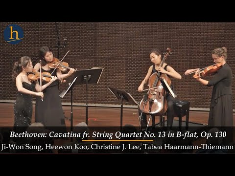 Heifetz 2016:  Beethoven | Cavatina from String Quartet No. 13 in B-flat, Op. 130