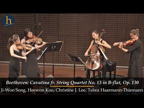 Heifetz 2016:Beethoven | Cavatina from String Quartet No. 13 in B-flat, Op. 130