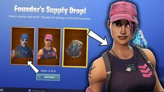 NOUVEAU FOUNDER GIFTS - NEW SPECIAL SKINS 1 YEAR-Fortnite Battle Royale