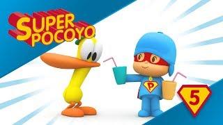 Super Pocoyó nos anima a beber mucha agua