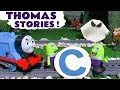 Thomas The Tank Engine Toy Train Stories with the funny Funlings, Ghosts and Dinosaurs TT4U
