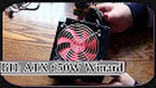 Обзор и Распаковка Блока Питания для Стационарного Компьютера: ATX 650W Winard, Вентилятор 12 см