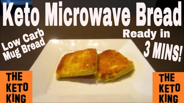 keto microwave bread only 3 mins keto mug bread ǀ low carb mug bread low carb microwave bread