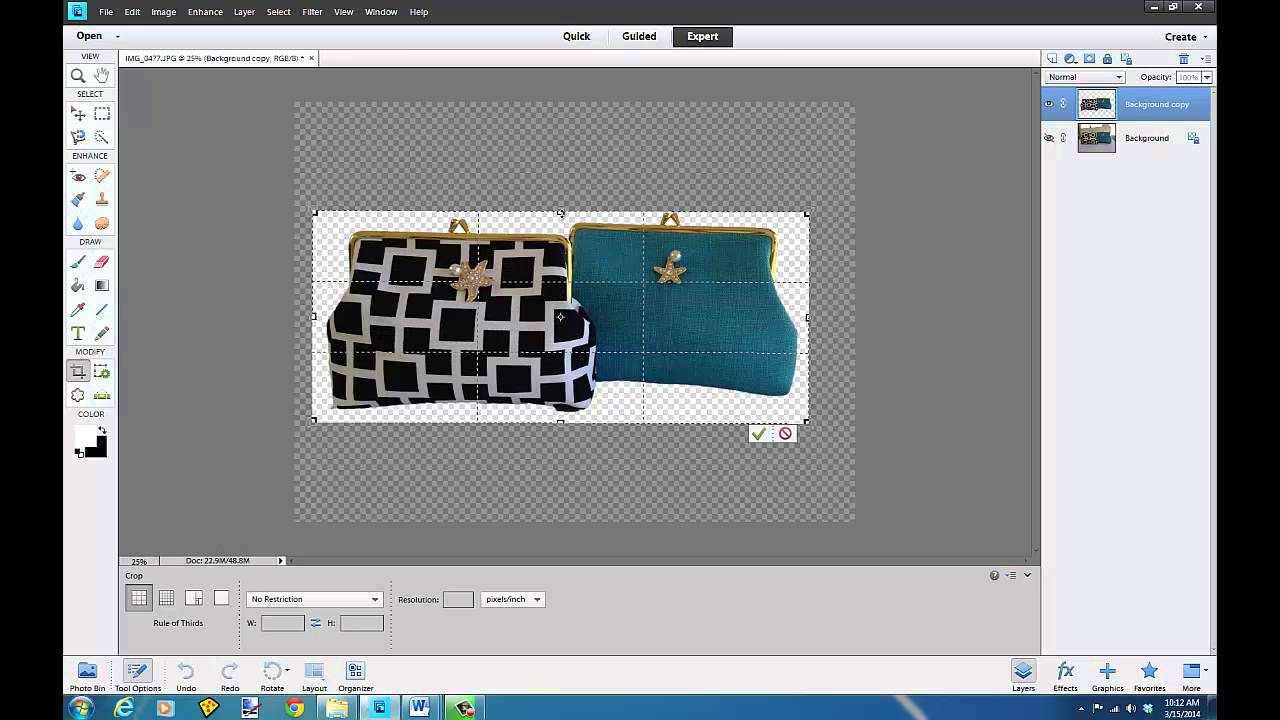 quickly get image cut out on white background photoshop elements rh youtube com 14 Adobe Photoshop Elements Adobe Photoshop Elements 1