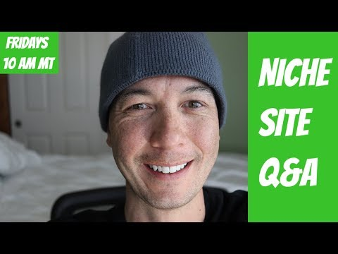 Getting Traffic to Niche Websites, Amazon Affiliate Sites, Digital Nomad, Q&A with Doug Cunnington