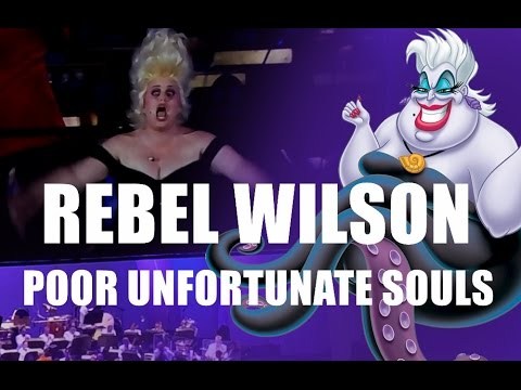 "Rebel Wilson performs ""Poor Unfortunate Souls"" - The Little Mermaid Live at The Hollywood Bowl"