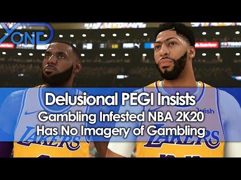 Delusional PEGI Insists Gambling Infested NBA 2K20 Has No Gambling