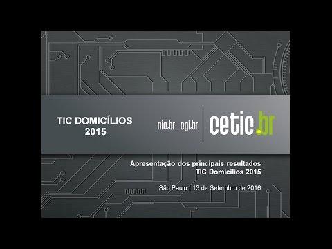 Hangout TIC Domicílios 2015