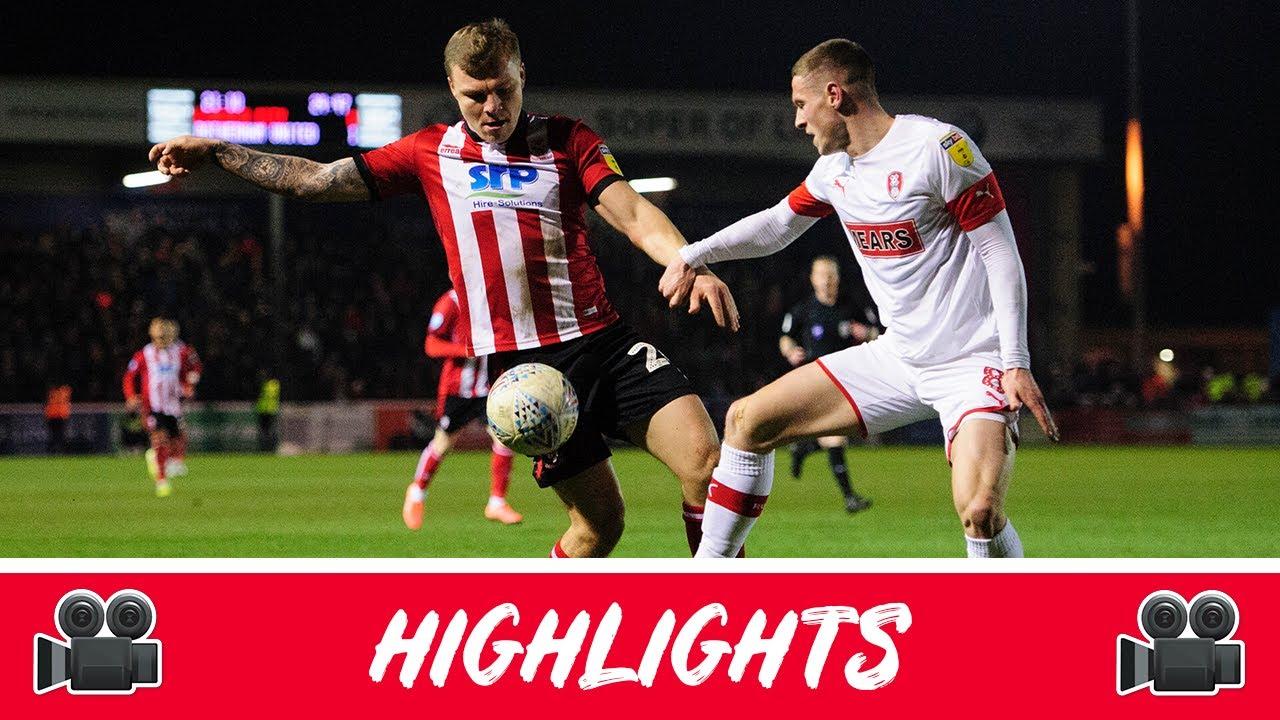 Линкольн Сити  0-1  Ротерем Юнайтед видео