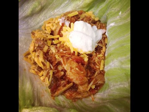 Recipe: Mexican Chicken Lettuce Wraps in the Slow Cooker