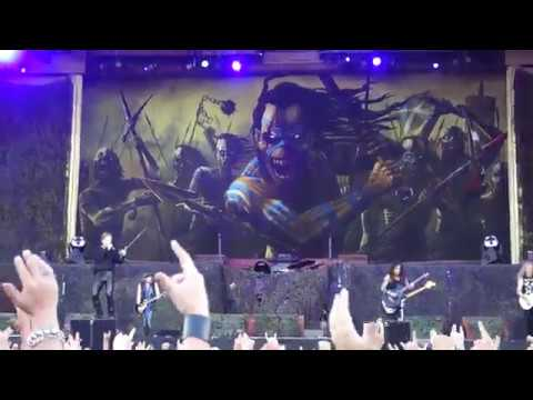 Iron Maiden - The Clansman Live @ Letnany Airport Prague 20.6.2018