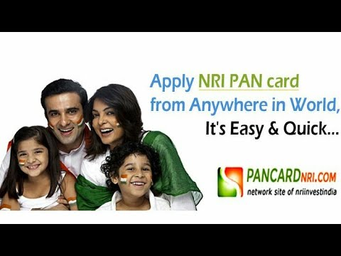How To Apply NRI PAN CARD Online 2017 Latest .......
