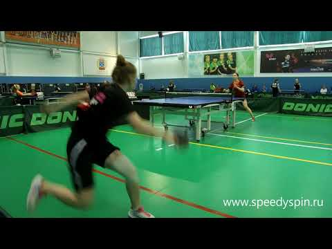 Girls Assorty,part One.Russian Table Tennis Youth Championship TOP-16,2018.FHD