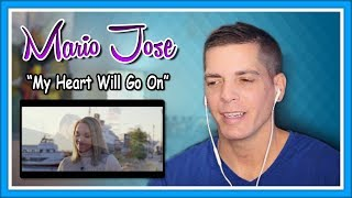 """Mario Jose Reaction   """"My Heart Will Go On"""" w/ Evynne Hollens"""